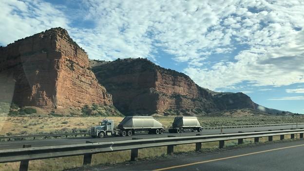 Driving I-80