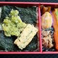 海苔のり弁 887 ASAKAMAI 887使用の値段が高い方 こっちのが好みかな 美味しゅうございました