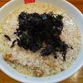 Photos: 福島市の麺屋 傑心さんにてS4R(少ししょっぱい背脂塩らぁめん)とマキシマムTKGをいただく 美味しゅうございました