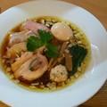郡山市の新店 麺処隆さんにて醤油特製と餃子(3ヶ)をいただく 美味しゅうございました