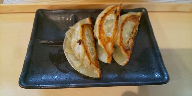 餃子(3ヶ)@麺処隆