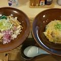 郡山市の麺処隆さんにて油そばと炒飯をいただく 美味しゅうございました