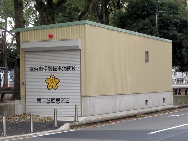 226 横浜市伊勢佐木消防団 第二分団第2班 器具置場