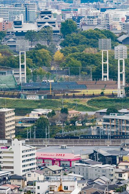 JR鹿児島本線 熊本~上熊本
