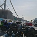 Photos: 壇ノ浦PAで初合流