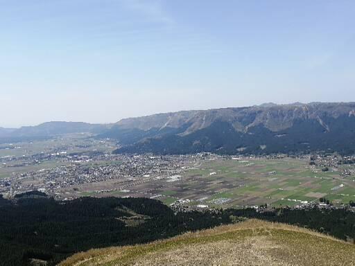大観峰展望台の景色