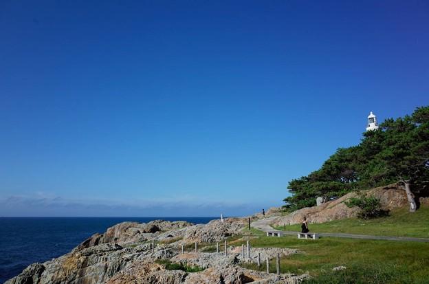 日御碕灯台 海岸側
