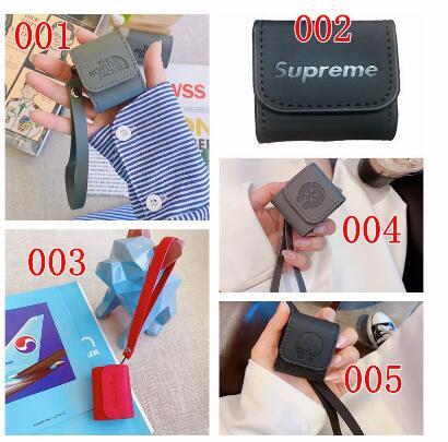 シュプリーム iphone13ケースAirTag airpods3/pro カバー