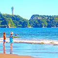 Photos: 湘南の浜辺
