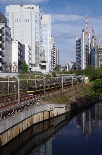 イエローラインの中央・総武線各駅停車