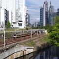 Photos: 神田川沿いを行く中央線