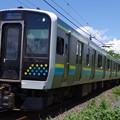 Photos: E131系2両×2編成の4両編成運用