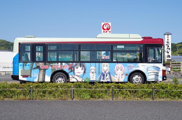 日東交通『戦翼のシグルドリーヴァ』ラッピングバス