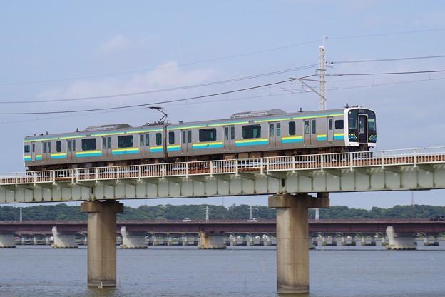 鹿島線の顔となったE131系