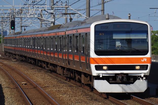 京葉線に直通する武蔵野線の電車