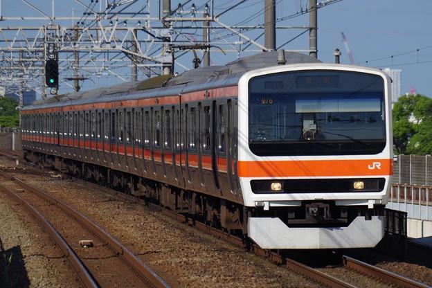 209系500番代の東京行き