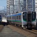仙台空港アクセス線用に転用されたセンP-505編成