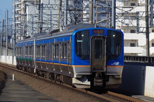 SAT721系とE721系の併結運転