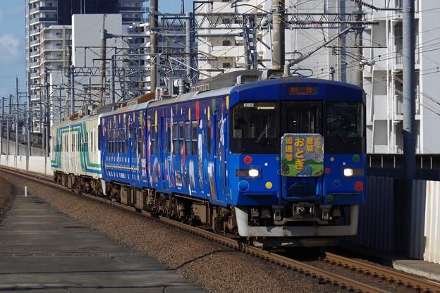 阿武隈急行8100系A-9編成「政宗ブルーライナー」