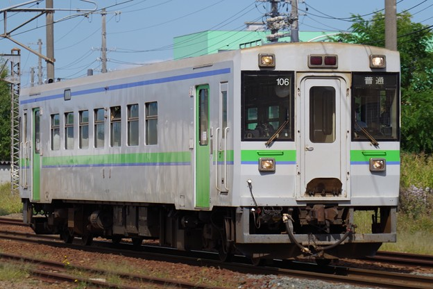 キハ150系普通列車岩見沢行き