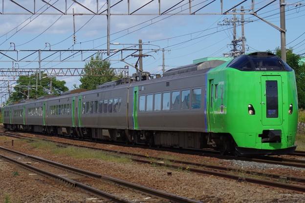 札幌~旭川間の特急ライラックに活躍の場を移した789系 0代