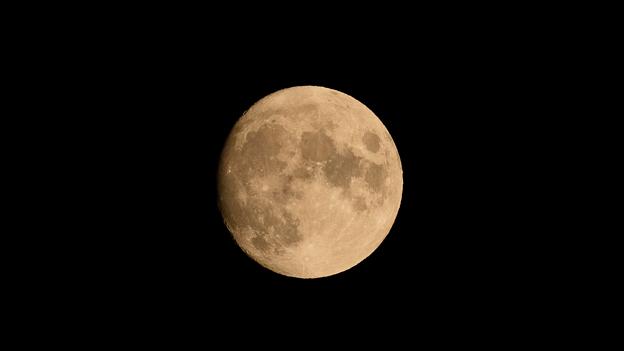 中秋の名月(※2日前の月)