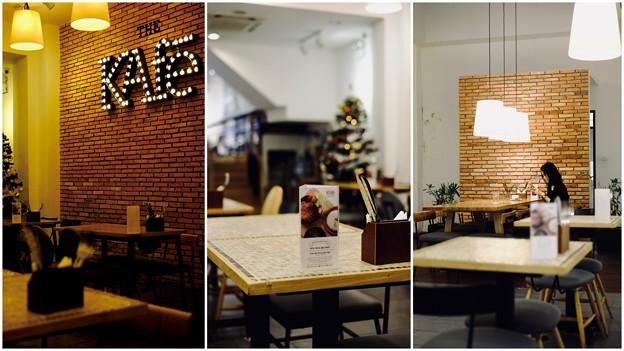 朝食は素敵なカフェへ-Ho Chi Minh, Viet Nam