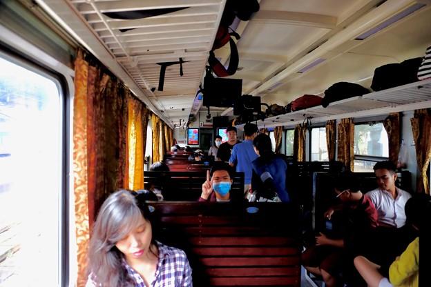 ローカル列車-Ho Chi Minh, Viet Nam