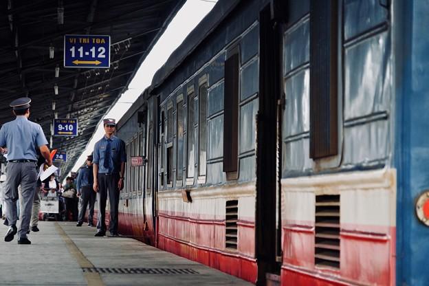 鉄道員-Ho Chi Minh, Viet Nam