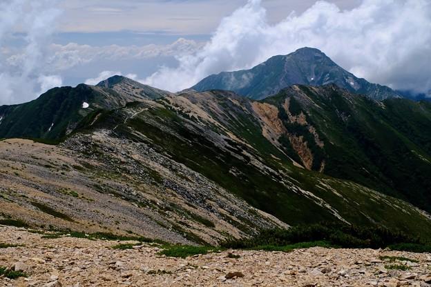縦走路を往く-長野県安曇野市:大天井岳
