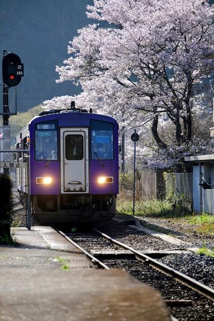 キハ-京都府笠置町:JR笠置駅