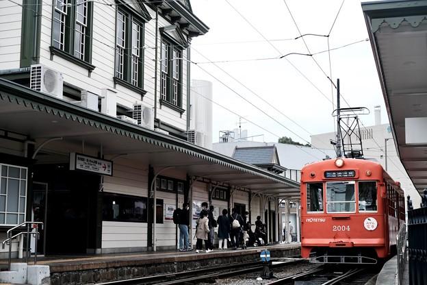 道後温泉駅-愛媛県松山市:道後温泉
