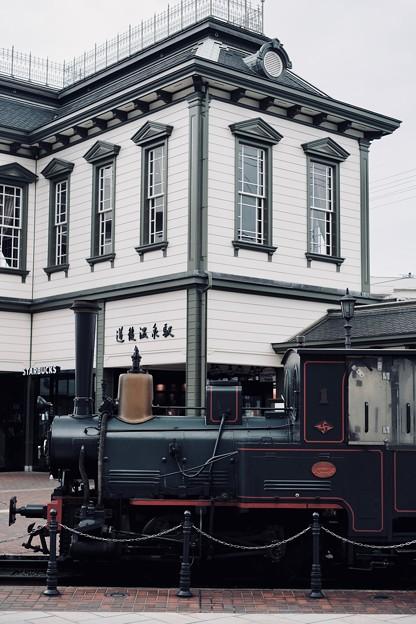 坊っちゃん列車-愛媛県松山市:道後温泉