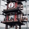 カラクリ時計-愛媛県松山市:道後温泉