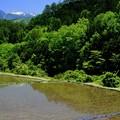 田植えの頃-長野県木曽町