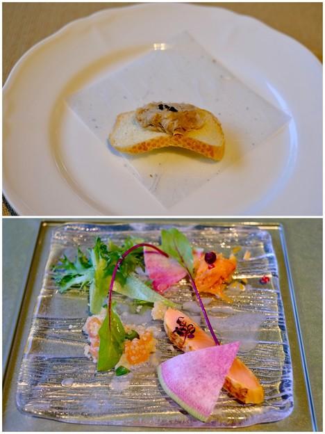 夕食の始まり-長野県松本市:上高地・上高地ホテル白樺荘