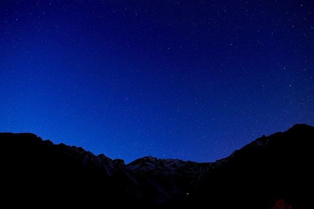 満天の星空-長野県松本市:上高地