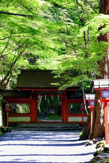 神門-京都市左京区:貴船神社