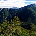 美しき甲斐駒ケ岳-長野県伊那市:仙丈ヶ岳