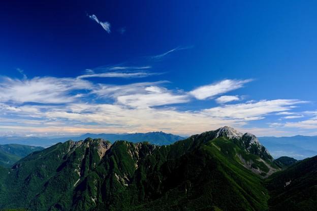 移ろう季節-長野県伊那市:仙丈ヶ岳