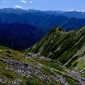 頂にて-長野県伊那市:仙丈ヶ岳