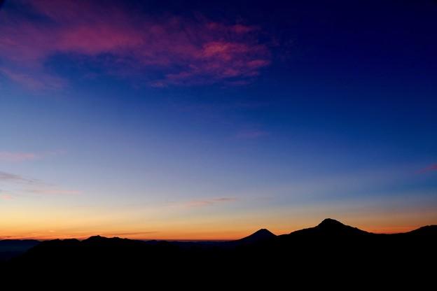 神々と出会う瞬間-長野県伊那市:仙丈ヶ岳