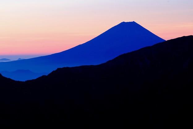 蒼き富士の嶺-長野県伊那市:仙丈ヶ岳