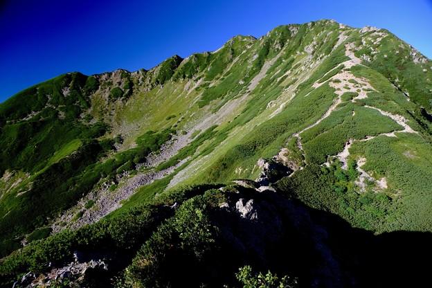 登山、旅行、カメラ-長野県伊那市:仙丈ヶ岳