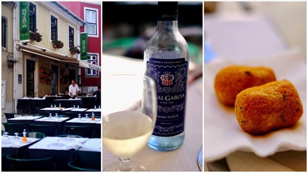 緑のワインに舌鼓-Lisbon, Portugal