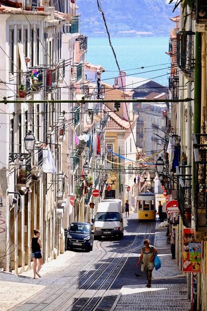 ケーブルカー、ビッカ線-Lisbon, Portugal