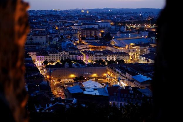 夜の帳-Lisbon, Portugal