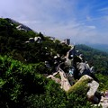 断崖に立つ城跡-Sintra, Portugal