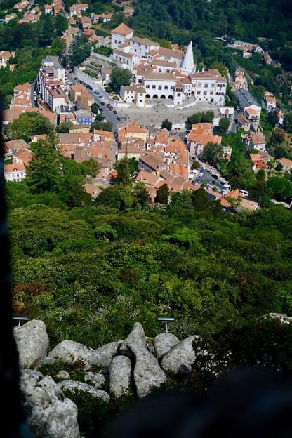 城壁からの眺め-Sintra, Portugal