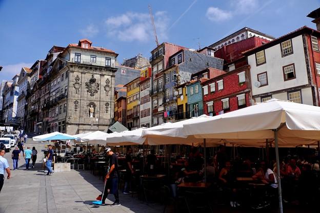 オープンカフェ-Porto, Portugal